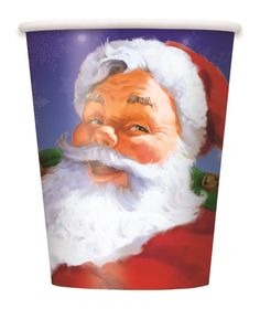 Party Cups| Xmas Party | Holiday Santa Party Decorations