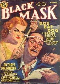 Davy Crockett's Almanack of Mystery, Adventure and The Wild West: My favorite BLACK MASK cover.