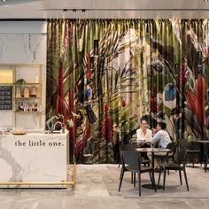"Commercial Fabric/WallCovering on Instagram: ""Stunning 20 metre long drapery that we custom printed with a large-scale pattern by New Zealand artist Lucy G! Designed by Architectus for…"""