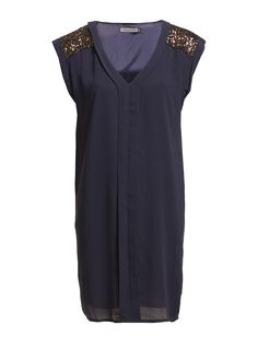 Soaked in Luxury - RUBINII Short Sleeve Dresses, Dresses With Sleeves, Great Deals, Dresses For Work, V Neck, Luxury, Shopping, Women, Style