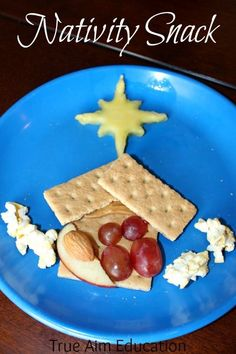 Cooking with Kids: Healthy Nativity Snack and Activity