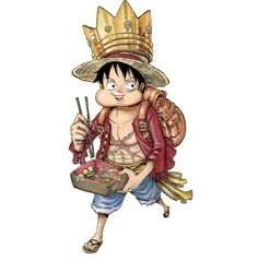 Monkey D. Luffy, One Piece