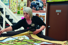Local fabric store making 100 quilts to support Ronald McDonald House - Medicine Hat News Ronald Mcdonald House, People Talk, Big Family, Quilt Making, The 100, Medicine, Fabrics, Daughter, Hat