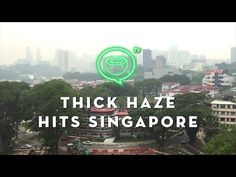 Thick haze hits downtown Singapore | Sept. 14, 2015 | Coconuts TV - YouTube