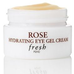 The Best New Skincare Products That Will Change Your Routine   The Stay-Put Eye Cream: Fresh Rose Hydrating Eye Gel Cream , $40, Fresh.com #beautycreamsproducts