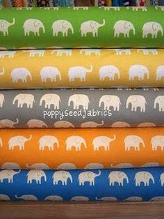 love the elephant prints!