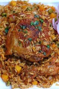 Arroz con pollo receta