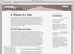 A More Modern Scale for Web Typography  //with font size conversion between  print and screen