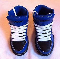 Men's Tony Hawk Skating Shoes Size 7.5 Blue & Black THWISTLERBLUE New with Tags Starting Bid $19.99
