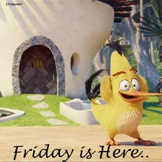 Friday Is Here! Ha ha! me too A. Thank You It's lovely! x :-)