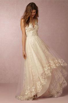 BHLDN Opal Gown in Bride Marchesa at BHLDN