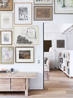 WeLoveHomeBlog.com: Simple ideas are always the best dream house: the artwork. / sfgirlbybay