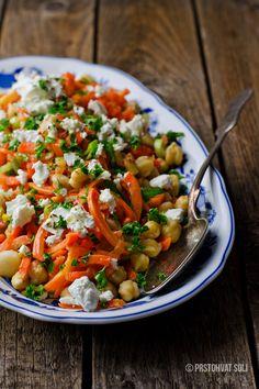 Salata sa leblebijama i sargarepom
