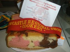 2015 Newcastle Show 2nd Marble Cake
