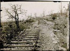 Castagnevizza, ferrovia bombardata