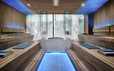 Quellenhof Luxury Resort Lazise, Italien: dolce vita - LIFESTYLEHOTELS Cabin Design, Home Design Decor, House Design, Design Hotel, Restaurant Design, Stairs And Staircase, Staircase Design, Spiral Staircases, Painted Staircases