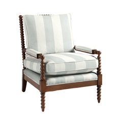 Our Shiloh Spool Chair offers deep seat comfort framed with rich vintage texture.
