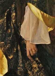 Portrait of Mrs Ernest Moon by William Blake Richmond, 1888