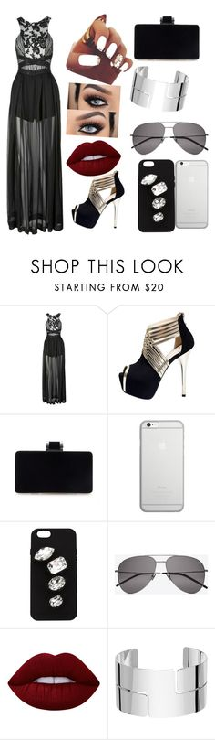 """Untitled #120"" by anasanchez2 ❤ liked on Polyvore featuring Three Floor, Native Union, STELLA McCARTNEY, Yves Saint Laurent, Lime Crime and Dinh Van"