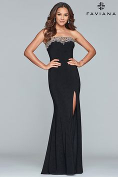 5374aac304 Faviana Glamour S10200 Chic Boutique  Largest Selection of Prom