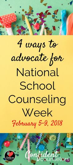 Commemorate National Counseling Week-By stating 'many thanks'
