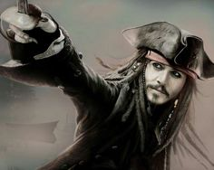 Fan Art of amazin' art & jack! for fans of Johnny Depp 33787590 Johnny Depp Fans, Here's Johnny, Johnny Depp Movies, Johny Depp, Black Sails, Pirate Life, Pirates Of The Caribbean, Cute Disney, Attractive Men