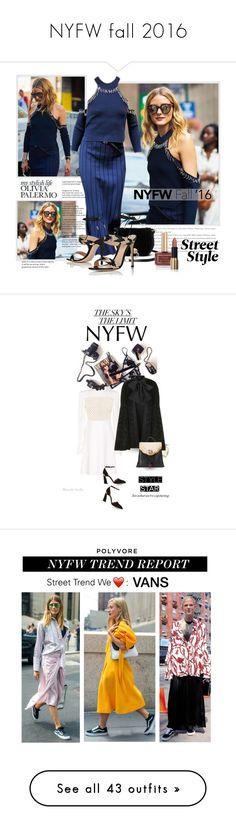 """NYFW fall 2016"" by eiliana ❤ liked on Polyvore featuring Gianvito Rossi, Diane Von Furstenberg, Ciaté, Giambattista Valli, Gucci, Vans, NYFW, vans, pvnyfw and Erin Fetherston"