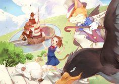 Neko no Ongaeshi (The Cat Returns ) Image - Zerochan Anime Image Board Studio Ghibli Art, Studio Ghibli Movies, Hayao Miyazaki, The Cat Returns Baron, Neko, Japanese Animated Movies, My Neighbor Totoro, Les Oeuvres, Cool Art