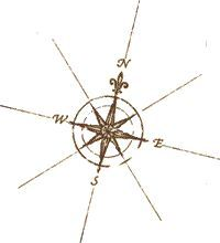 small compass tattoo - Google Search