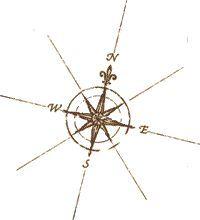 small compass tattoo - Google Search