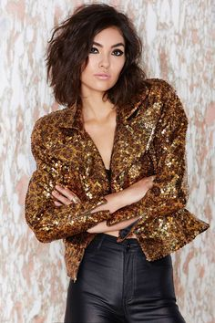 Vintage Tina Sequin Jacket | Shop Vintage at Nasty Gal