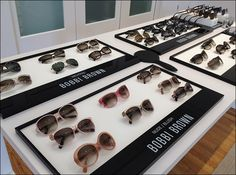 NEW Bobbi Brown eye wear at Buena vista optical New Glasses, Designer Eyeglasses, Skin Tone, Face Shapes, Bobbi Brown, Eyewear, Frames, Product Launch, Range
