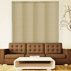 Chicology Deluxe Adjustable Sliding Panel / Cut to Length, Curtain Drape Vertical Blind, Natural Woven, Privacy - Nile Reed, Nile Reed (Natural Woven) Sliding Curtains, Sliding Panels, Drapes Curtains, Valance, Window Treatment Store, Window Coverings, Window Treatments, Hidden Spaces, Natural Weave