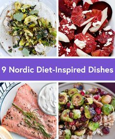 """The Nordic Diet: The New """"It"""" Diet (Plus 9 Recipes to Try) Just when you thought you'd tried every diet out there, there's a new player in the healthy eating game. Meet the Nordic Diet. Healthy Eating Games, Healthy Vegan Snacks, Healthy Diet Recipes, Diet Snacks, Paleo Diet, Paleo Food, Healthy Eats, Scandinavian Diet, Nordic Diet"""