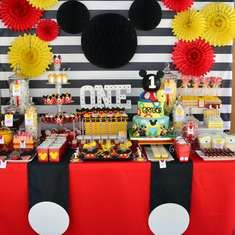Mickey Mouse 1st Birthday Party - Mickey Mouse