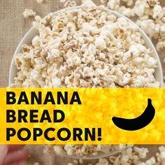 Banana Bread Popcorn LIKE Cooking Panda for more delicious videos!!!
