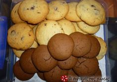 Cookies, εύκολα, σπιτικά και νόστιμα Biscuit Bar, Biscuit Cookies, Yummy Cookies, Sweets Recipes, Cookie Recipes, Biscuits, Jam Tarts, Cooking Cookies, Breakfast Snacks