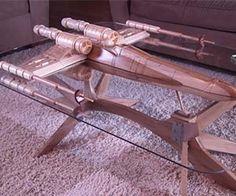 Star Wars X-Wing Coffee Table