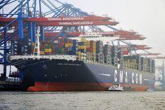 Hamburg: Hafenrundfahrt zu den Containerterminals