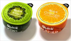 Quick Kiwi | Quick Orange | Attractive packaging ideas | packing designs