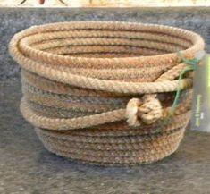 ce0fee36a596 51 ιδέες για καλάθια απο σκοινί!