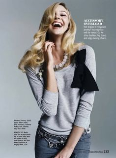 Cosmopolitan - September 2009 - The Sexiest Fall Fashion - Candice Swanepoel