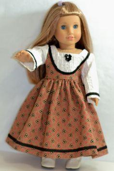 American Girl Doll Clothes  Mid 1800s by ThreadsAndSplinters, $50.00