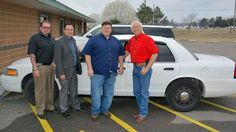 Cherokee Nation Donates Car To Muskogee County Sheriff's Office