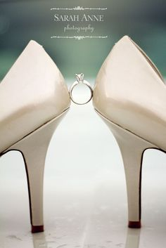 Shoes and diamonds are a girl's best friend!