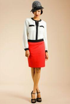 Westcott 2 Skirt::Trina Turk