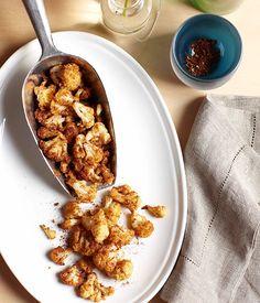 Australian Gourmet Traveller recipe for fried spiced cauliflower by Matt Stone from Greenhouse restaurant in Perth.