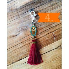 Hamsa Magenta string tassel $8 + $3.50 shipping  Want this item?! Here's what to do:  1. Email me at bearxco@gmail.com or direct message me with your email, mailing address, and  what item number you want.  2. I'll email you a Square invoice (don't worry, you don't need Square to check out!). 3. Click the link in the invoice to pay with credit card or debit.  4. Once your payment is received, your item will ship!  P. S. Please be aware that it may take up to 2 days to process before shipping…