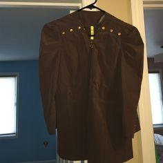 Gray blazer jacket NWOT P2 Jackets & Coats Blazers