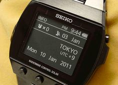 Seiko Active Matrix Digital EPD Watch